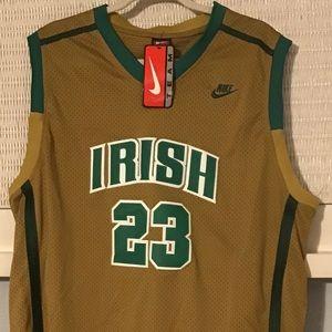 Nike LeBron James 2003 Irish Jersey, Sz. XXXL, NWT